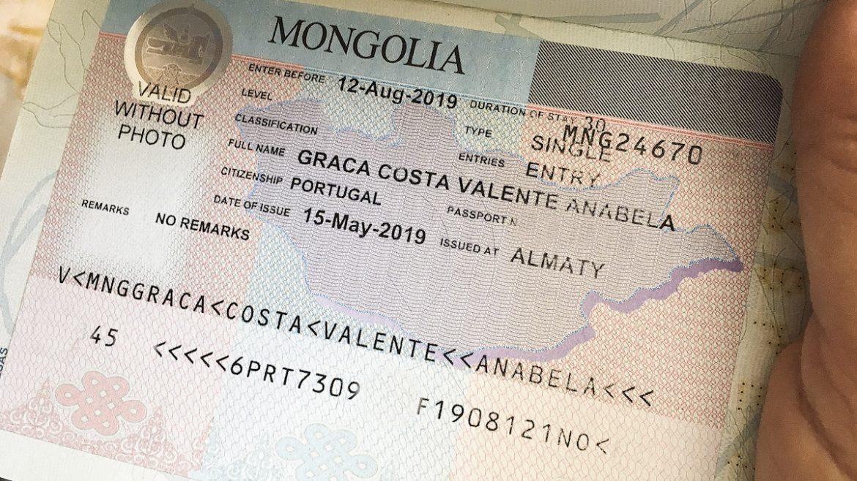 Mongolian-visa