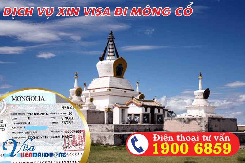 Dịch vụ xin visa Mông Cổ