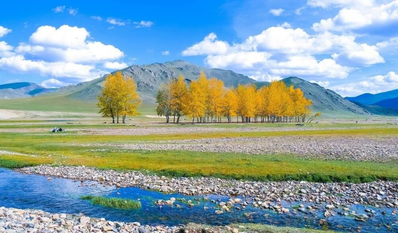 Những cảnh sắc tuyệt vời viết nên giai điệu đẹp cho bản nhạc thảo nguyên Mông Cổ
