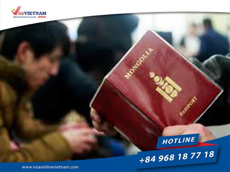 Vietnam visa fees in Mongolia - Вьетнамын визний төлбөр