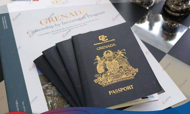 How many ways to apply for Vietnam visa in Grenada?
